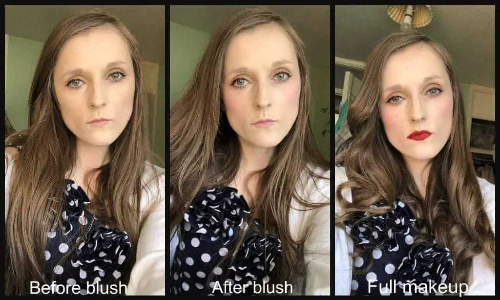 primark k-beauty bubble blush before and after