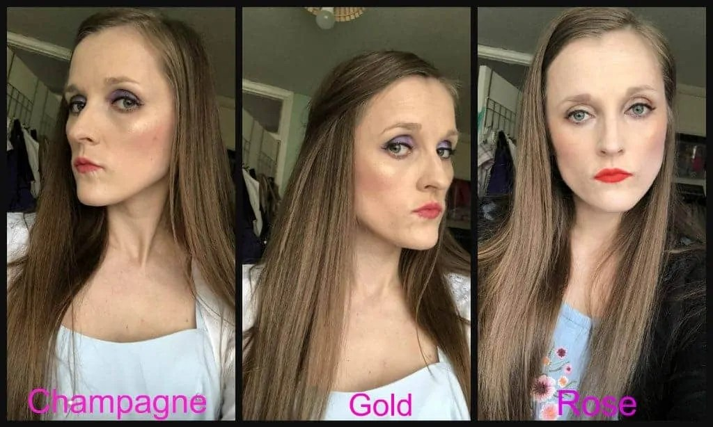 revolution pro supreme highlighter gold demo