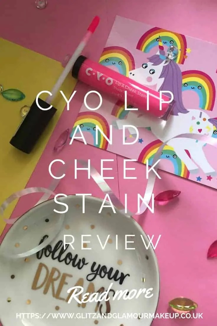cyo lip and cheek stain review