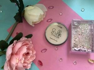 everyday summer makeup routine george silk finish pressed powder light