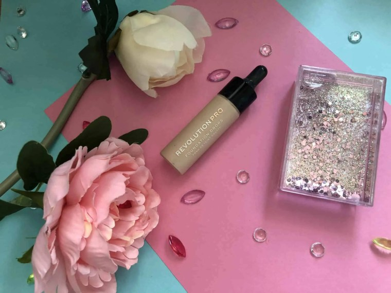 everyday summer makeup routine revolution pro foundation drops f1