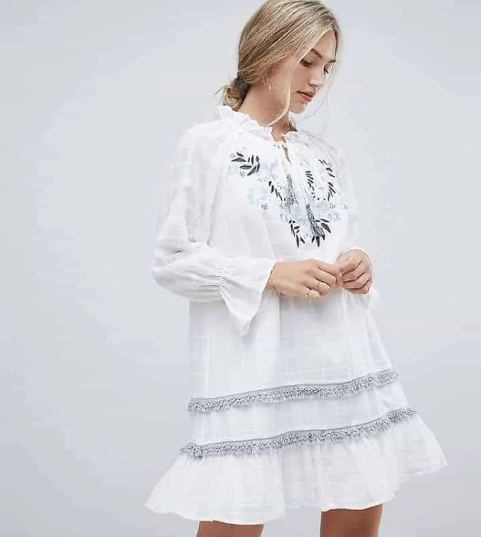 the best floaty dresses for summer stevie may benita embroidered dress