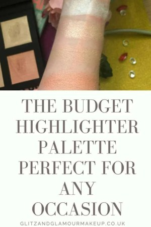 the budget highlighter palette perfect for any occasion