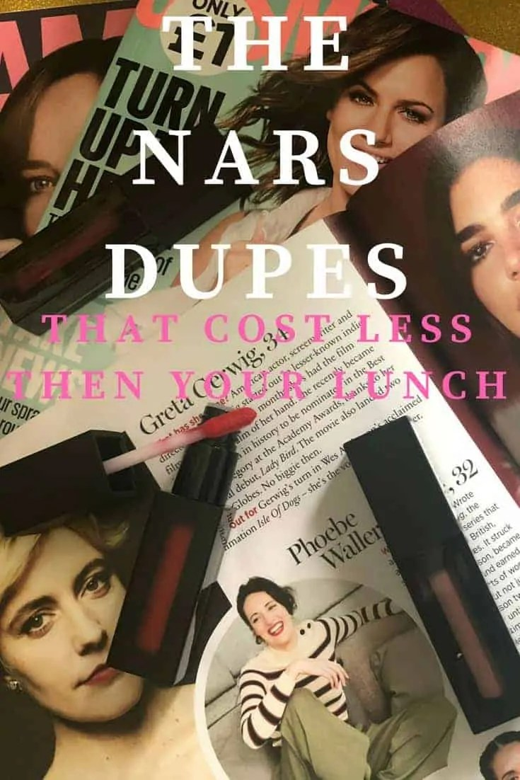 the nars dupes that cost less then your lunch