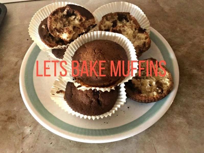 Have fun baking with the timesaving Lets Bake ingredient bottles muffins