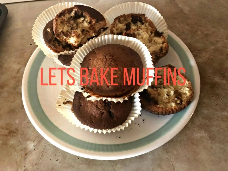 Have fun baking with the timesaving Lets Bake ingredient bottles muffins