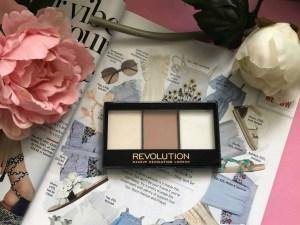 Makeup Revolution cosmetics massive makeup palette competition lightning contour kit
