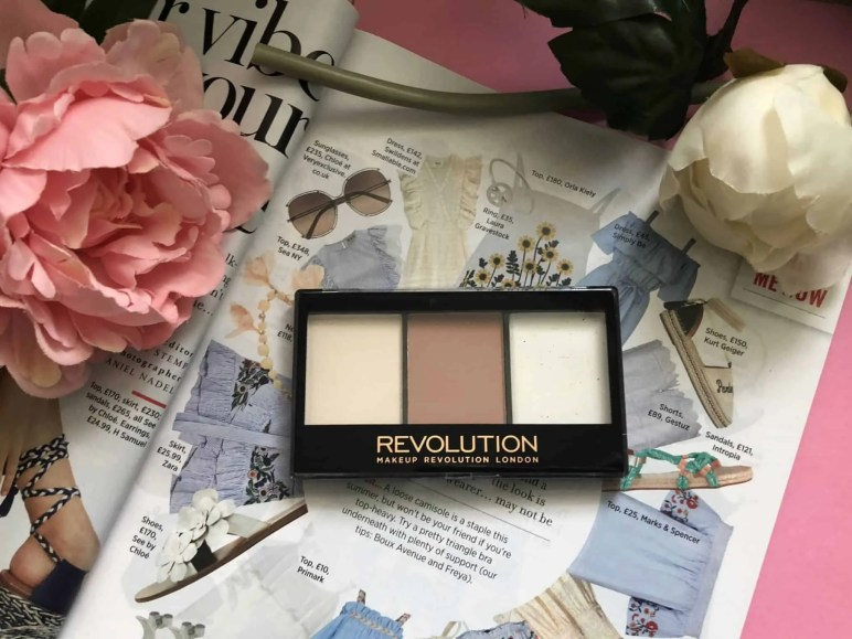 Makeup Revolution cosmetics massive makeup palette competition lightning contour kit