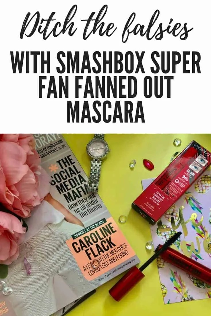 ditch the false lashes with smashbox super fan fanned out mascara