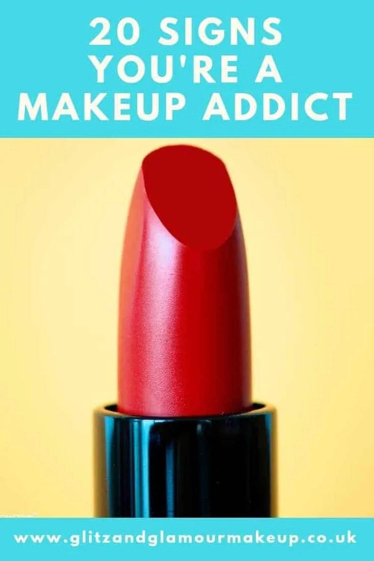 20 signs you're a makeup addict