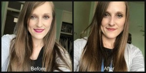 Restore life to dry damaged hair with Restora Protein treatment before and after