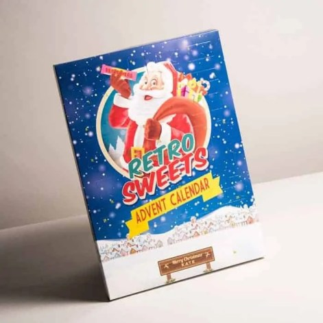 make december even sweeter with the best sweet advent calendars personalised retro sweet calendar