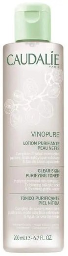 ultimate skincare products for oily skin caudalie vinopure clear skin purifying toner