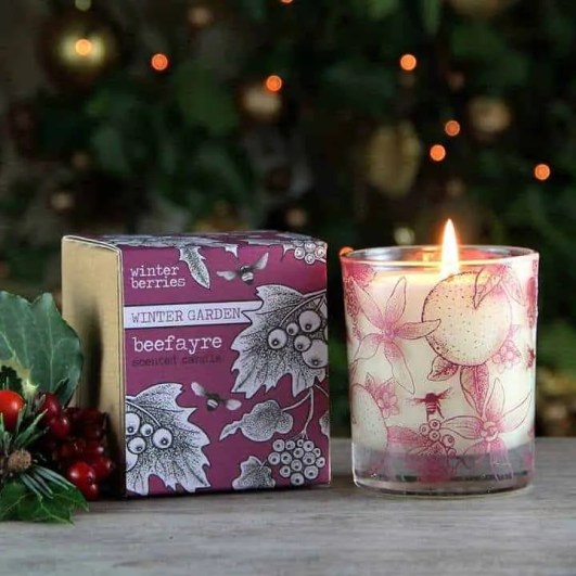 the best winter candles to give your home a cosy feel beefayre winter berries candle