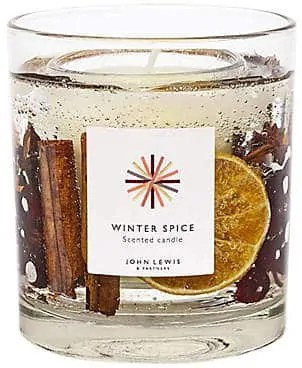 the best winter candles to give your home a cosy feel john lewis winter spice gel candle