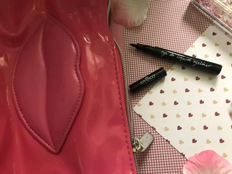 What's in my makeup bag winter edition eyeko liquid eyeliner