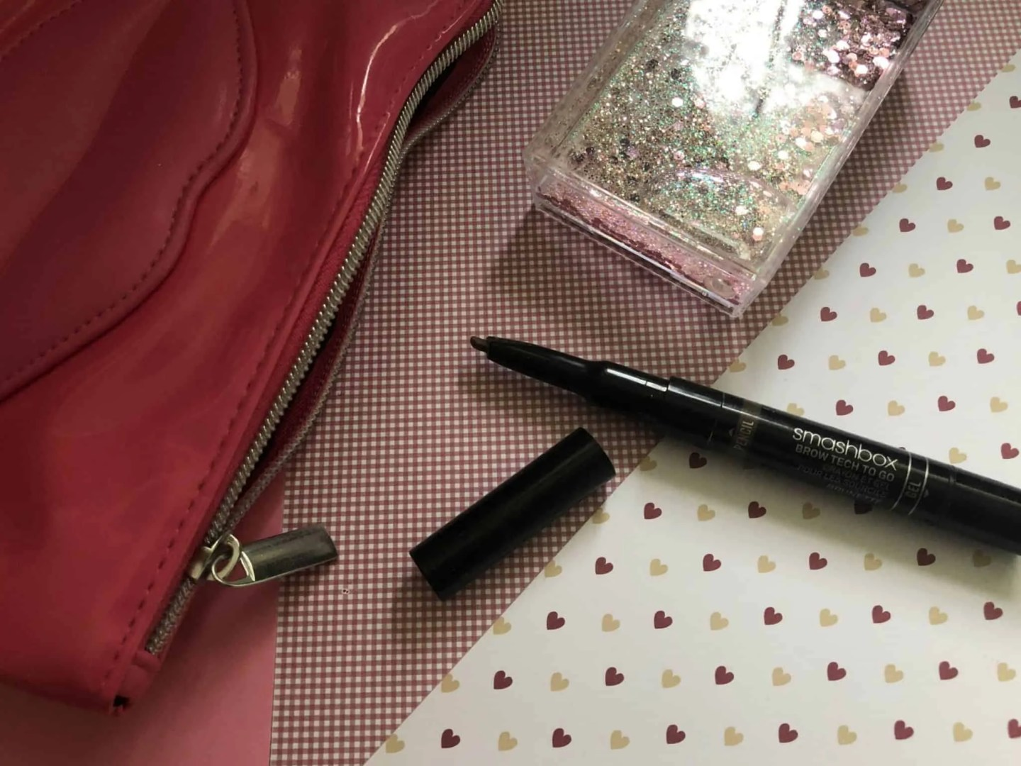 What's in my makeup bag winter edition smashbox brow tech
