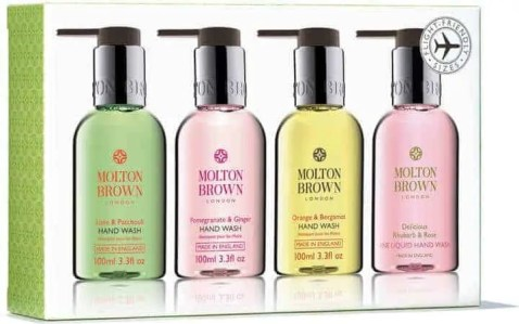 valentines day gift guide 2019 molton brown best sellers travel hand wash set