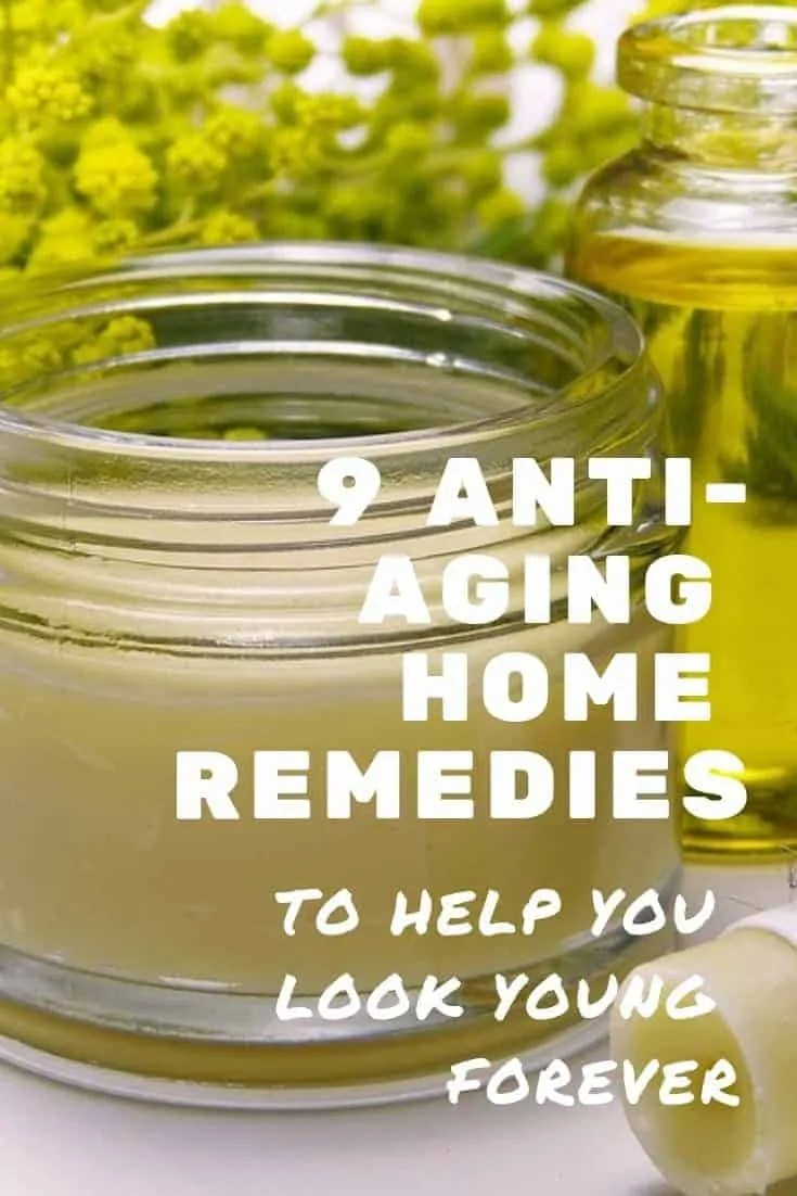 9 anti-aging home remedies to help you look young forever