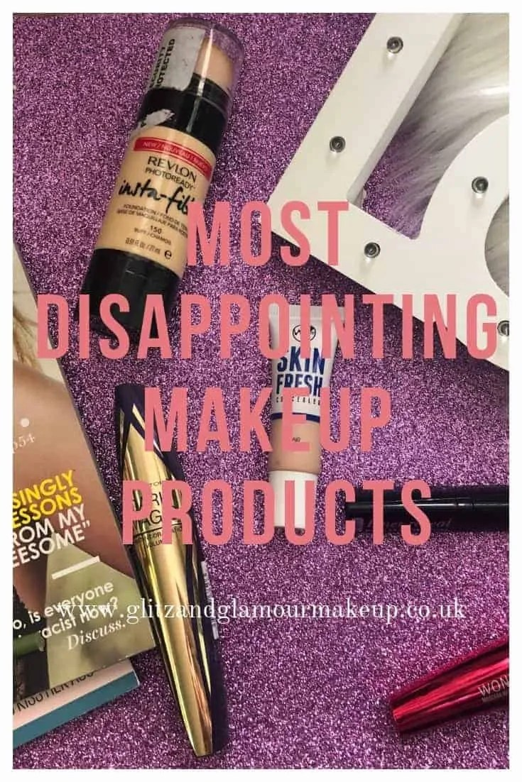 most disappointing makeup products