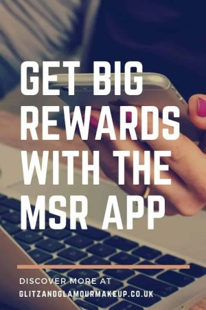 get big rewards with the msr app