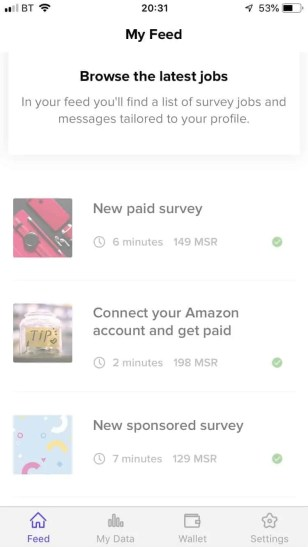 The high paying MSR survey app that rewards you for your data