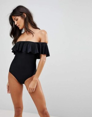 brave soul bardot swimsuit