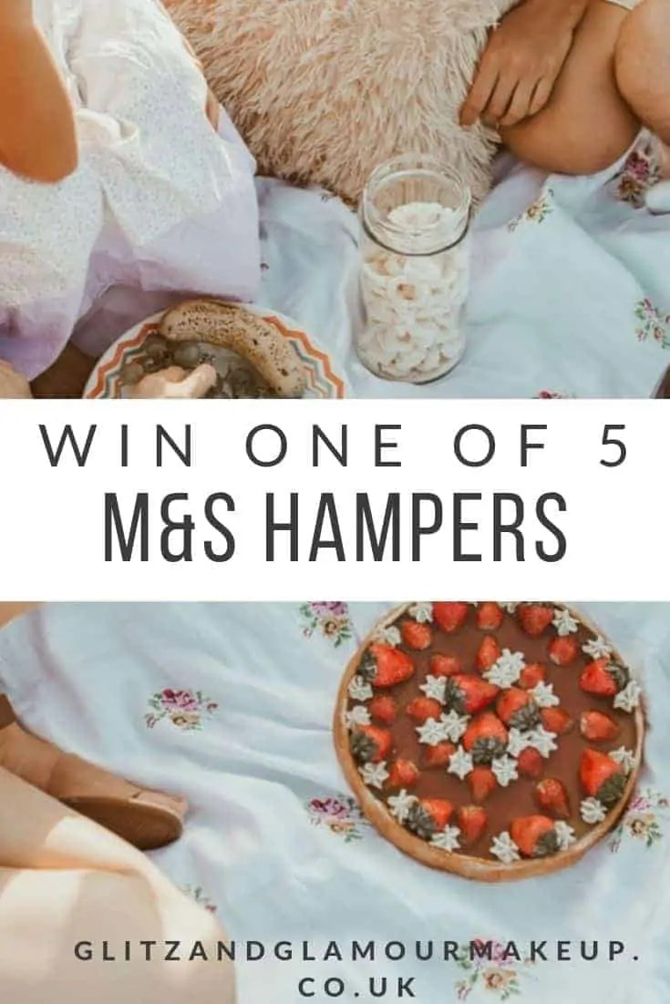 win one of five m&S hampers