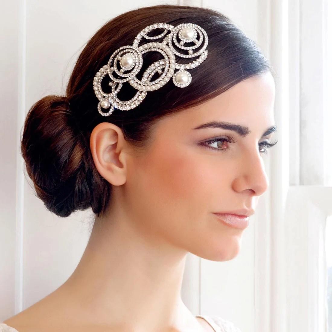 Divine In Art Deco Headpiece Hair Accessories Glitzy