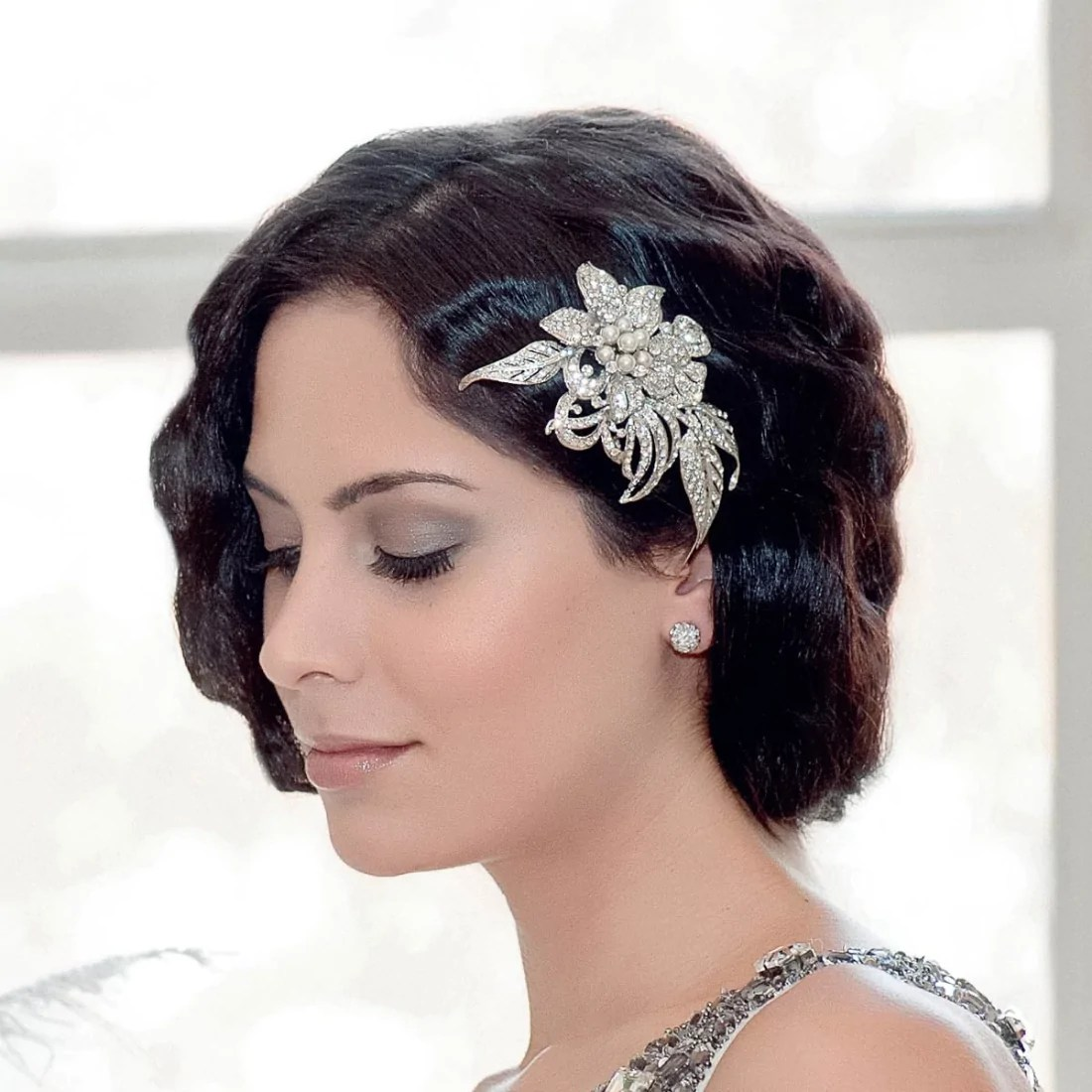 Gatsby Petals Headpiece Wedding Hair Accessories