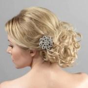 antique hair clip - vintage beauty