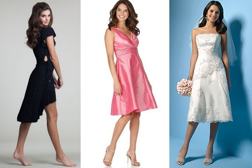 Latest Party Fashion Trends - Mid length Dress