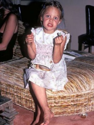 Angelina in 1983
