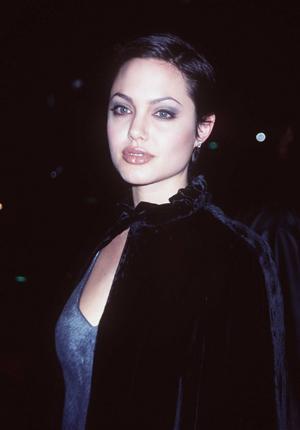 Jolie in 1997