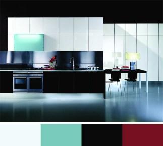 Black Color Scheme for Interior Decor