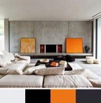 Hot Color Scheme for Interior Decor