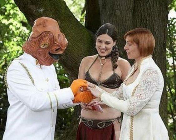 Weirdest Wedding Couples Ever