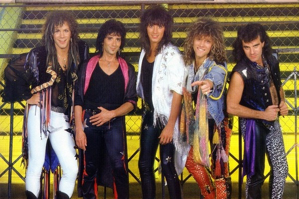 Bon Jovi Iconic Boy Bands