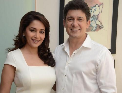 Madhuri Dixit with Husband