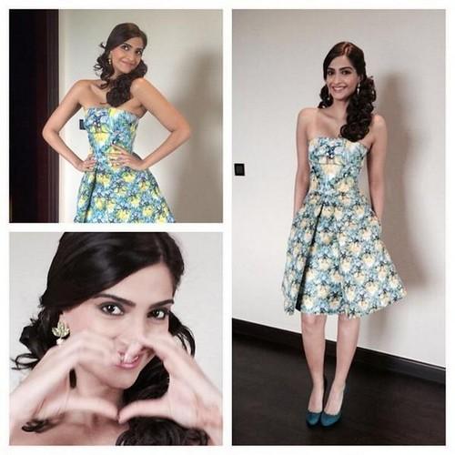 Sonam Kapoor looks refreshingly pretty