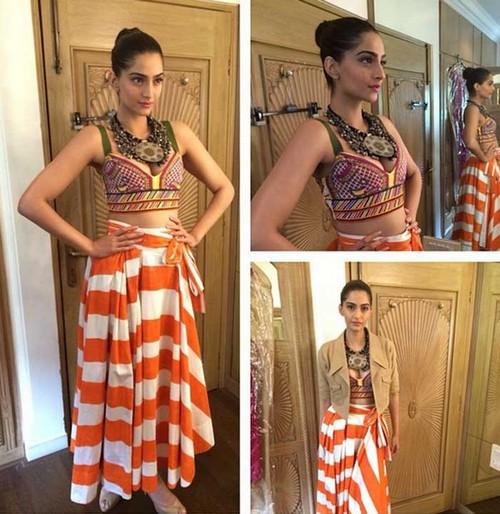 Sonam Kapoor Dresses by Easton Pearson