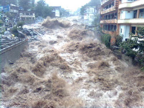 Yellow river flood