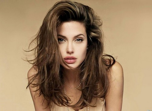 Angelina Jolie Sultry Eyes