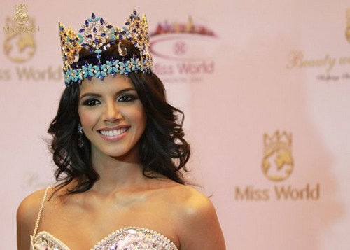 Ivian Sarcos of Venezuela Miss World