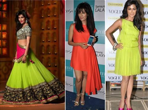 Chittrangada Singh Neon dresses