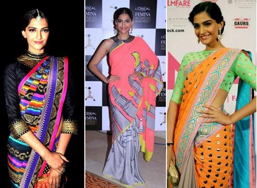 Sonam Kapoor Neon dresses