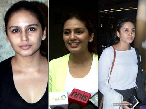 Huma Qureshi without Makeup