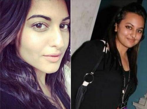 Sonakshi Sinha without Makeup
