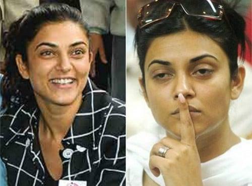 Sushmita Sen without Makeup