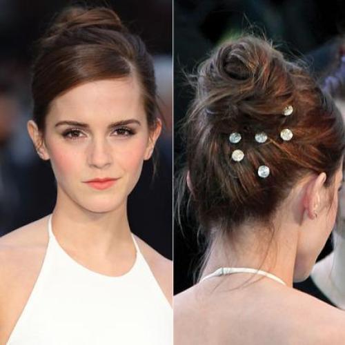 Emma Watson's hair accessories